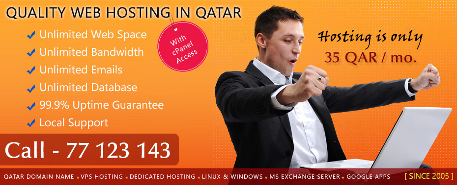 Web Hosting Qatar